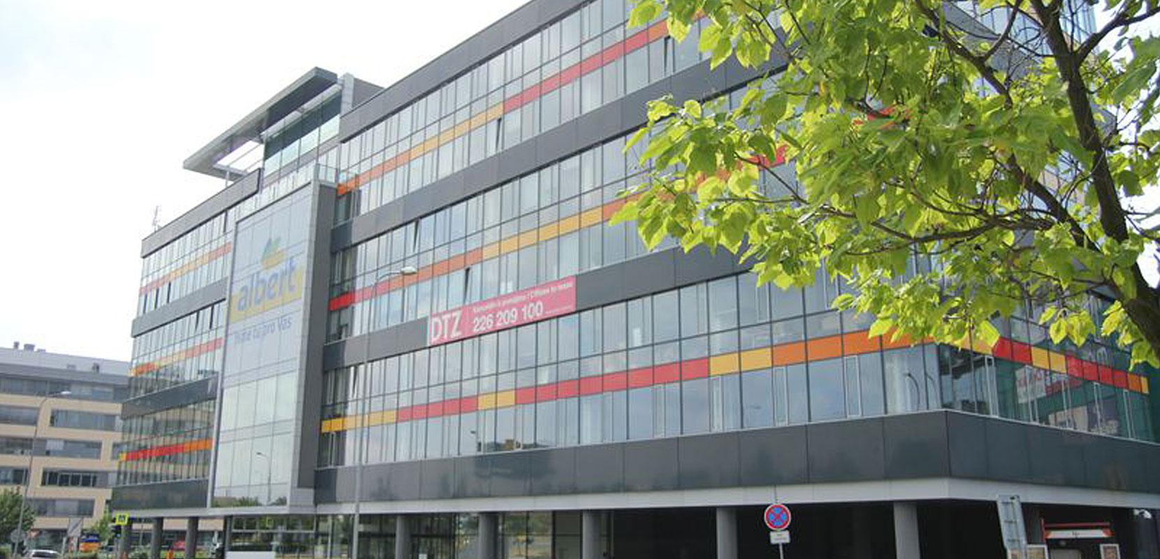 Kancelářská budova Galerie Butovice